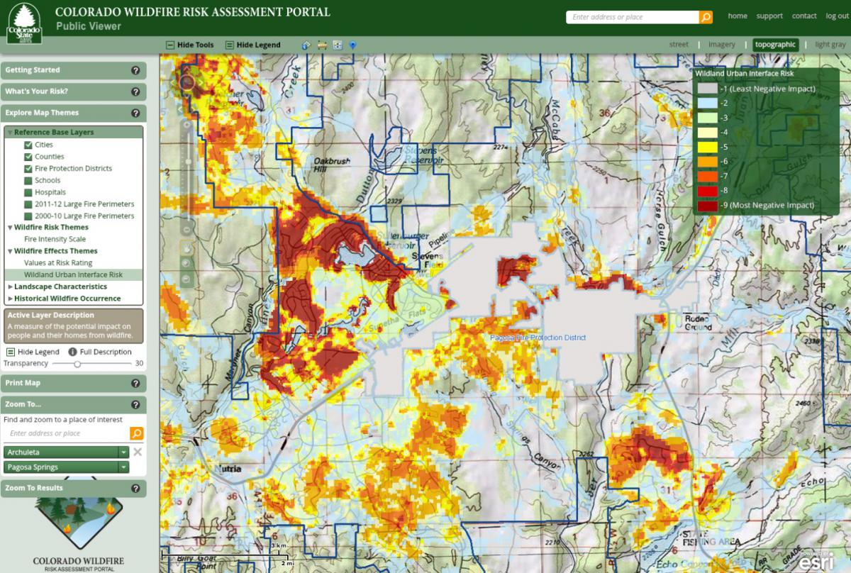 Wildfire Planning For Hazards